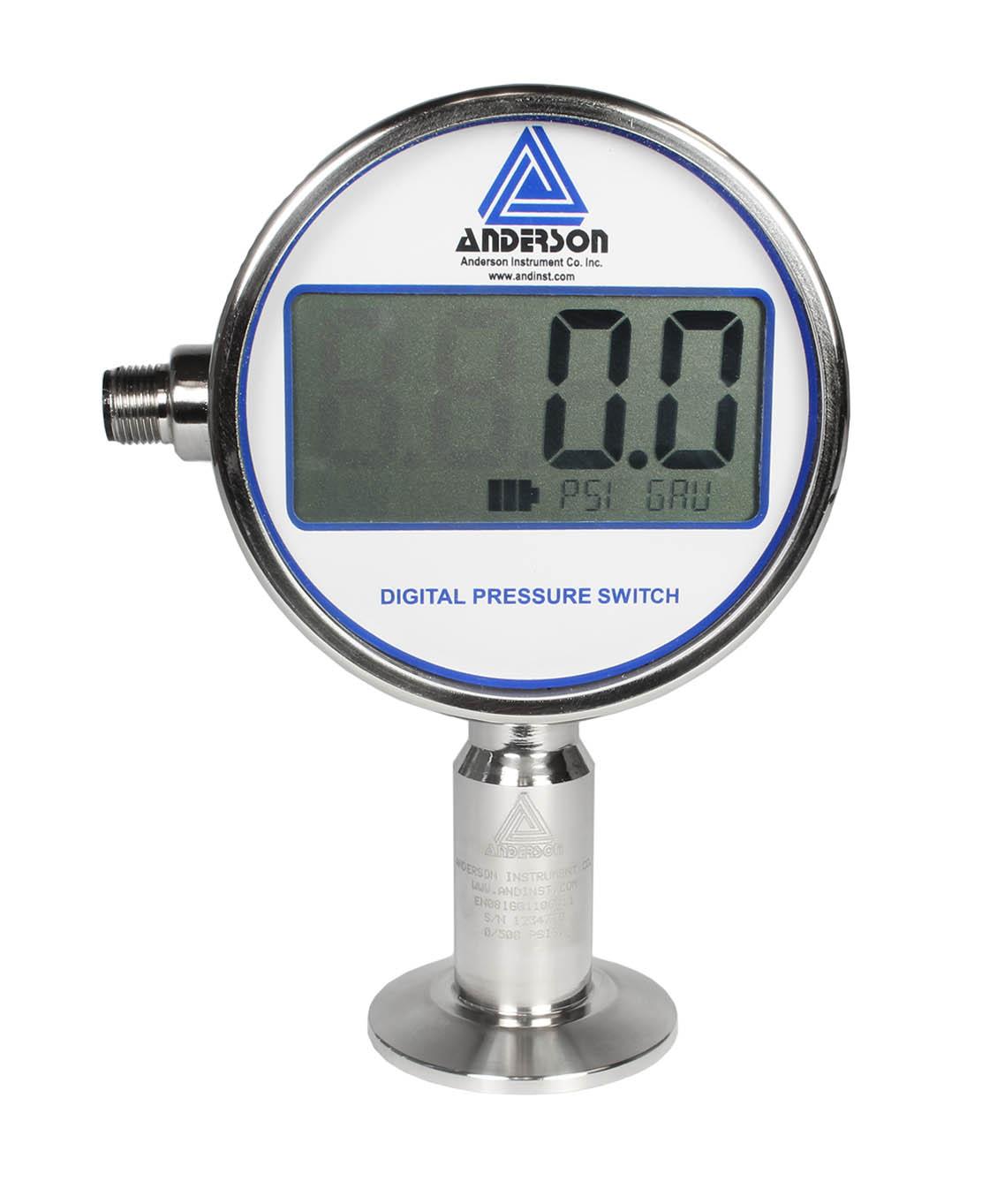 EN Digital Pressure Gauge/Switch - Pressure Sensors - Img 1 - Anderson-Negele